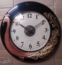 Handmade Attractive Antique Style Wodden Base Wall Clock