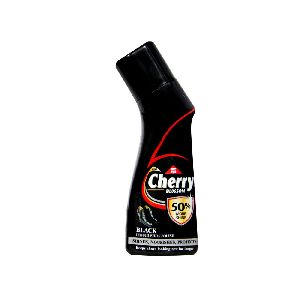 Cherry Blossom - Black Liquid Leather Shoe Polish