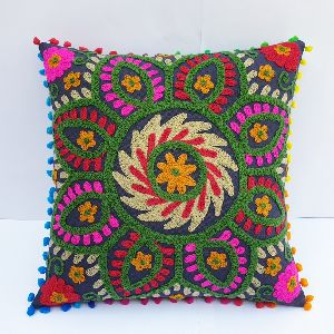 Vintage Square Suzani Cushion Cover
