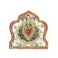 Handicraft Marble Key Holder