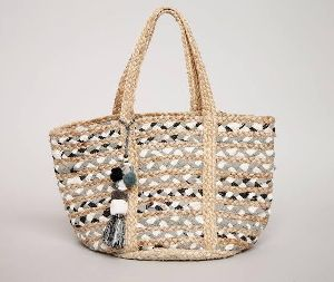 Jute Braided Bag
