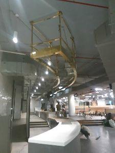Brass Fabrication Work