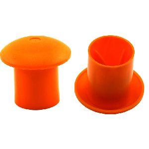 Plastic Safety Rebar Cap