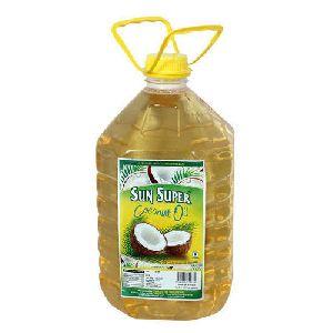 Sun Super 5 Litre Coconut Oil Pet Bottle