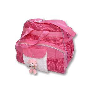 Pink Designer Mother Bag