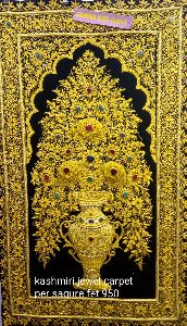 Kashmiri Jewel Carpet