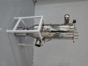 wood chip vacuum conveyor