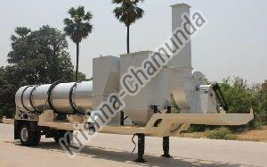 Mobile Hot Mix Plant Dryer