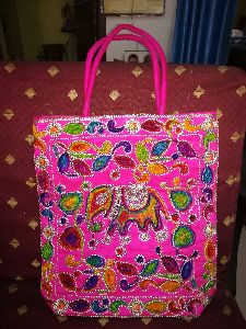 BAG COTTON EMBROIDED