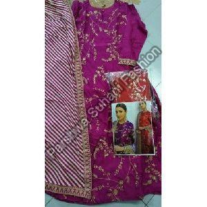 Muslin Bollywood Replica Gown