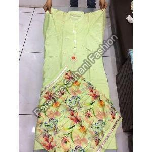 Cotton Fabric Digital Printed Suit