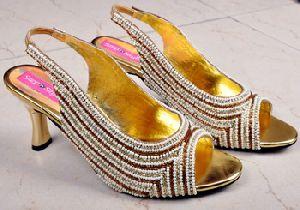Beaded Shoe