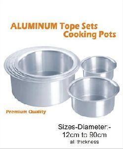 Aluminium Cooking Pot- Top Set