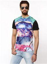 Men Digital Sublimation Printed T Shirts