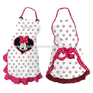 Printed Apron Made Of 100% Cotton