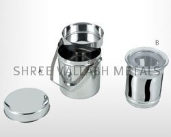 Food Container And Dollar Canister