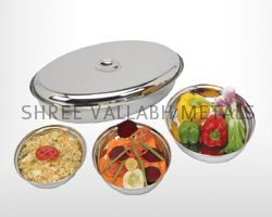 Oval Curry Dish