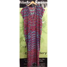 Kaftan Silk Dress Women Wear