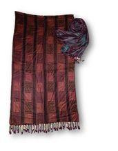 100% Viscose Yarn Dyed Shawl
