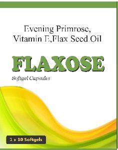 Flax Seed Oil + Vitamin E + Evening Primrose