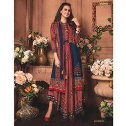Designer Silk Long Kurtis