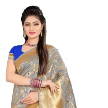 Indian Women Sari Pure Silk Sarees