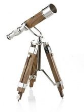 Vintage Brass Telescope Polish