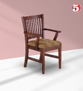 Classic Wooden Dining Chair With Arms
