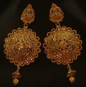 Indian gold plated earring jewellery
