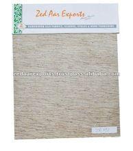 Tassar noil varigated silk fabrics