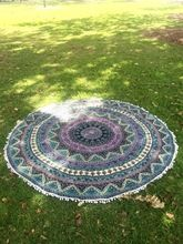Indian Tapestry Round Mandala Tapestry