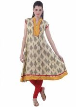 Anarkali Designer Cotton Kurti