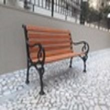 Cast Iron Park Bench Garden Furniture