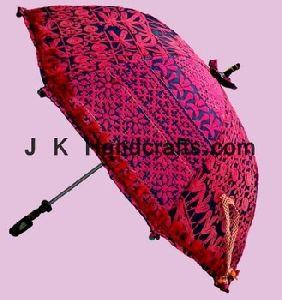 Beautiful Embroidered Beach Umbrellas