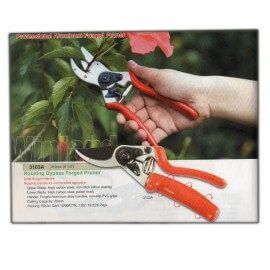 07 Plant Shears Red And Silver : Garden Tool