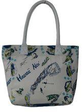 Printed Canvas Ladies And Girls Handbag