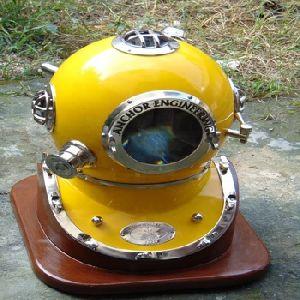 Nautical Anchor Engineering 18 Diving Helmet solid Glass Diving Helmet