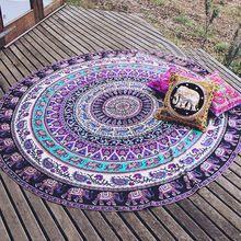 Decorative Wall Art Cotton Hippie Mandala Tapestry