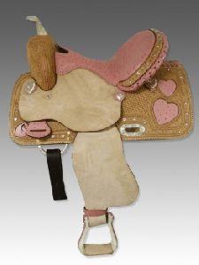 Pink Western Saddle