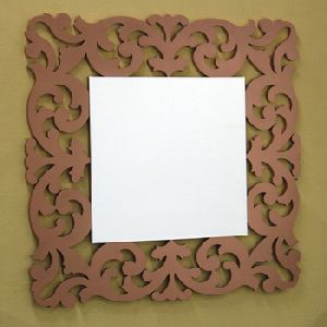 Wooden Framce Bedroom Wall Mirror