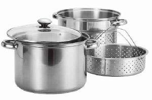 Stainless Steel Steamer Pasta Cooker