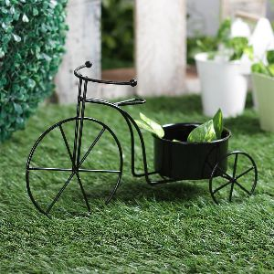 Plant Container Black Cycle