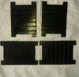 Rt-3703 Grooved Rubber Sole Plate