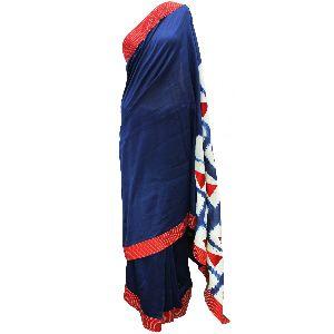 Applique Silk Statement Saree