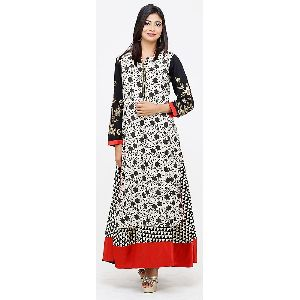 Stunning Ethnic Embroidered Anarkali Dress