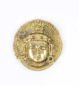 Brass Lord Mahavira Wall Hanging