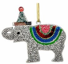 Elephant - Colorful Decorative Christmas Hangings