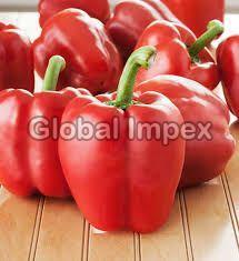 Fresh Bell Pepper Red