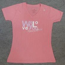Latest Cotton Printed Design Womens T Shirt