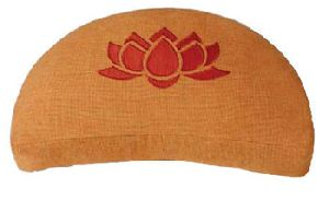 Embroiderd Yoga Zabu Cushion With Buck Wheat Filling